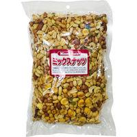 金鶴食品製菓 ミックスナッツお手頃業務用パック 4972319430013 1箱(8袋入)(直送品)