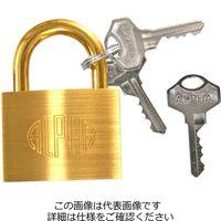 アルファ(ALPHA) アルファ南京錠 #1000 50mm AL-007 1個(直送品)