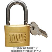 アイアイ(aiai) TWE ステンレス吊南京錠 40mm IB-083 1セット(2個)(直送品)
