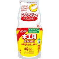 コニシ 木工用らくらくパック 1kg #40168 1セット(2袋)(直送品)