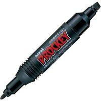 三菱鉛筆 プロッキー PM150TR.24 太細 黒 10本 1セット(直送品)