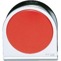 プラス カラーマグネットクリップ 大 レッド10個 RD 1箱(直送品)
