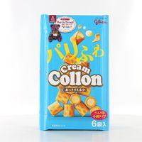 江崎グリコ クリームコロン<あっさりミルク> 4901005104068 6P×10個(直送品)