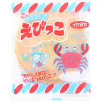 イケダヤ製菓 えびっこ 3枚 4901053001135 3マイ×75個(直送品)