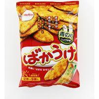 18枚ばかうけ(青のり) 4901336123516 2マイX9P×12個 栗山米菓(直送品)