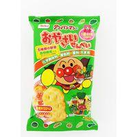 アンパンマンのおやさいせんべい 4901336168562 2マイX6P×24個 栗山米菓(直送品)