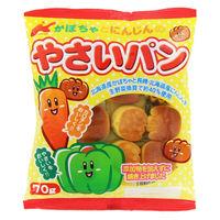カネ増製菓 70gかぼちゃとにんじんのやさいパン 4901359311013 70G×32個(直送品)