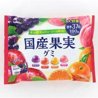 国産果実グミ 4901550269182 180G×10個 カバヤ食品(直送品)