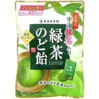緑茶のど飴 4901650221523 100G×12個 扇雀飴本舗(直送品)