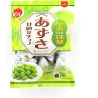 でん六 あずき甘納豆チョコ(抹茶) 4901930111711 66G×12個(直送品)