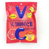 ノーベル製菓 VCー3000のど飴ピンクグレープフルーツ 4902124680433 90G×12個(直送品)