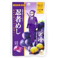 UHA味覚糖 忍者めし 巨峰 袋 4902750615113 20G×20個(直送品)