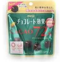 明治 チョコレート効果カカオ72%パウチ 4902777006673 40G×20個(直送品)