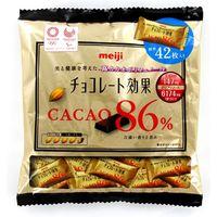 明治 チョコレート効果カカオ86%大袋 4902777026480 210G×12個(直送品)