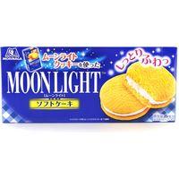 森永製菓 ムーンライトソフトケーキ 4902888208157 6コ×12個(直送品)