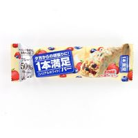 アサヒグループ食品 1本満足バー シリアルホワイト 4946842520244 1ポン×36個(直送品)