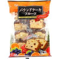 9個パウンドケーキ フルーツ 4970055125156 9コ×8個 エースベーカリー(直送品)