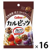 カルビー カルビッツ フルグラ ソイカカオ風味 26g 16袋 シリアル グラノーラ