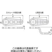 TONE(トネ) ワーデジトルク・電動パワーデジトルク用反力受 30SLH 1個(直送品)