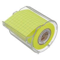 ヤマト メモックロールテープ 方眼 50mm幅 カッター付 1個 NRK-50CH-LH