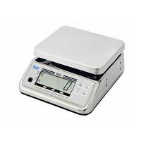 防水型デジタル上皿はかり UDS-600-WPK 6kg 検定品 UDS-600-WPK-6-3 1台 大和製衡(直送品)