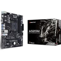 BIOSTAR AMD A520 Chipset搭載MicroATXマザーボード A520MH 1個(直送品)