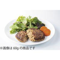 日東ベスト 業務用 JGハンバーグヴィアンドN(80) 91427 1ケース (80g×10個)×2PC(直送品)