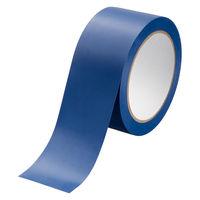 アスクル 「現場のチカラ」 ラインテープ 青 幅50mm×長さ20m 1セット(5巻) オリジナル