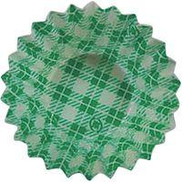 紙ケース ライトタイプ 緑チェック 6F 500枚 377151 3個(1500枚入) 木村アルミ箔(直送品)