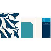マルモ印刷 ポケフル A4 スカンジナビアン Collection:A4-1 3冊×3種類 PKF-A4-1 1セット(直送品)