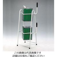 エスコ(esco) 18L [2段式]角缶用スタンド(一斗缶用) 1台 EA520W-47(直送品)