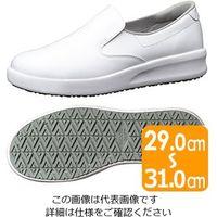 ミドリ安全 超耐滑作業靴ハイグリップ・ザ・フォース NHF-700 ホワイト 大 29.0 1足 2125086802(直送品)