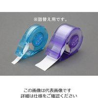 エスコ(esco) 25mmx10m はがせる修正テープ(詰替用) 1セット(150m:10m×15個) EA765BR-67(直送品)