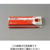 エスコ(esco) 消せる赤鉛筆(消しゴム付/12本) 1セット(36本:12本×3箱) EA765MC-31(直送品)