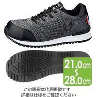 ミドリ安全 作業靴 MWJ-710 ブラック 26.5cm 1足 2125094312(直送品)