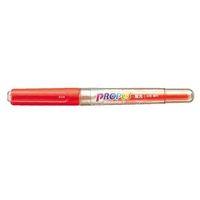 エスコ(esco) [橙] 蛍光ペン(10本) 1セット(40本:10本×4箱) EA765MH-31(直送品)