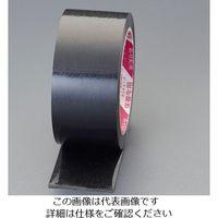 エスコ(esco) 50mmx25m 養生テープ(つや有/黒/日焼防止) 1セット(15巻) EA944ML-85(直送品)