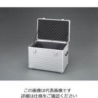 エスコ(esco) 570x368x298mm アルミケース(積み重ね可能型) 1個 EA502TL-2(直送品)