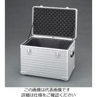エスコ(esco) 570x368x398mm アルミケース(積み重ね可能型) 1個 EA502TL-3(直送品)