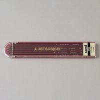 エスコ(esco) 2.0mm[ H]シャープペンシル替芯(6本) 1セット(180本:6本×30セット) EA765MF-101(直送品)