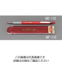 エスコ(esco) 2.0mm シャープペンシル替芯(6本/赤) 1セット(120本:6本×20ケース) EA765MF-110(直送品)
