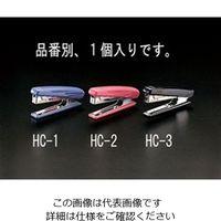 エスコ(esco) ホッチキス(ブラック) 1セット(10個) EA762HC-3(直送品)