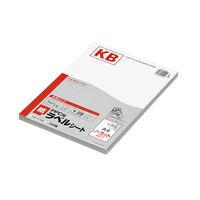 コクヨ(KOKUYO) PPC用ラベルシート(共用タイプ) A4 100枚入 ノーカット 白 KB-A190 1セット(5袋)(直送品)