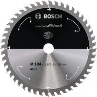 BOSCH 丸のこ刃 スタンダード木材 2608837703 1枚(直送品)
