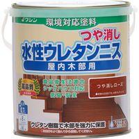 和信ペイント #800485 水性ウレタンニスつや消ローズ0.7 1缶(直送品)