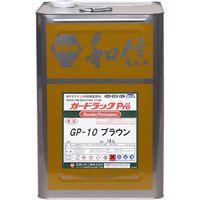 和信ペイント #950114 ガードラックプロ ブラウン 16L 1缶(直送品)