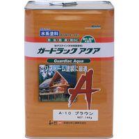 和信ペイント #950160 ガードラックアクア ブラウン 14kg 1缶(直送品)