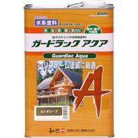 和信ペイント #952237 ガードラックアクア オリーブ 3.5kg 1缶(直送品)