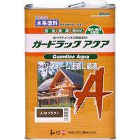 和信ペイント #952240 ガードラックアクア ブラウン 3.5kg 1缶(直送品)