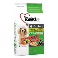【ロハコサンプル】ファーストチョイス 成犬 小粒 チキン 1.2kg アースペット ドッグフード ドライ
